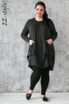 """Платье """"Её-стиль"""" 2026 ЕЁ-стиль (Черный)"""