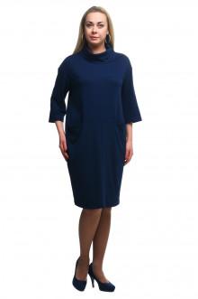 """Платье """"Олси"""" 1805014/1 ОЛСИ (Синий темный)"""