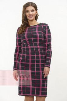 Платье женское 2291 Фемина (Антрацит/флокс)