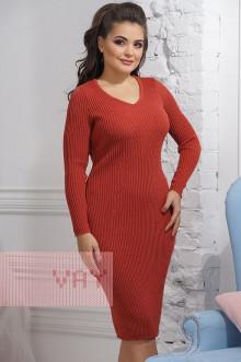 Платье женское 2285 Фемина (Кирпичный)