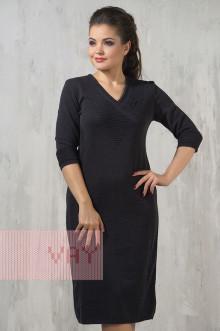 Платье женское 2227 Фемина (Мокрый асфальт)